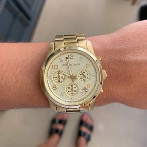 Gold limited edition Michael Kors Watch